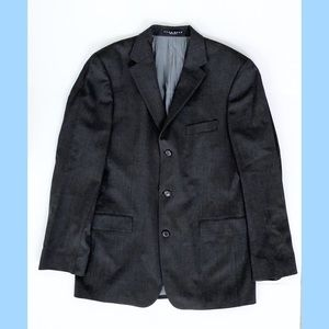 Gray Hugo Boss Men's Blazer 42L